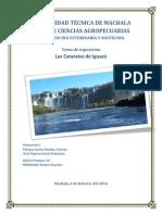 Las cataratas de Iguazú.docx