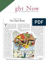 the teen brain in harvard magazine