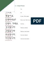 Korean for Fun