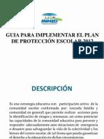Guia Para Plan de Proteccion Escolar