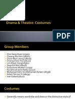 Drama & Theatre - Costume