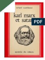 Karl Marx Et Satan.