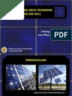 Uji Karakterisasi Sel Surya Silikon OSK 5611