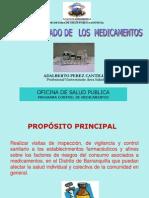 USO ADECUADO MEDICAMENTOS 2011-Secretaria de Salud Publica