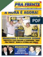 Informativo Unaí Pra Frente - Branquinho e Professor Zeuman - Edição 01