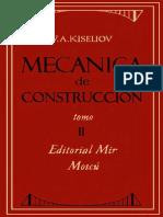 6. Resistenca de Materiales- Kiseliov- Mecanica de Construccion- Tomo2- Mir