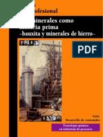 Los Minerales Como Materia Prima (Bauxita y Minerales de Hierro)
