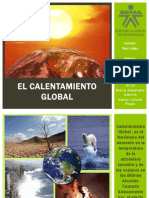 Expo Etica- Calentamiento Global