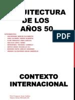 ARQUITECTURA DE LOS AÑOS 50.pptx