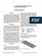 Scarlet Design of the Fresnel Concentrator Array for New Millenium Deep Space 1