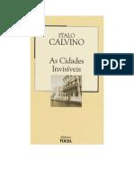 Italo Calvino - As Cidades Invisíveis.doc