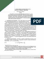 Maximum Likelihood Estimation of a Compound Poisson Process