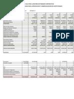 Flujo de Caja a Evaluar Finanzas- Rocabado