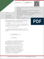 Organica Constitucional Sobre Gobierno y Administracion Regional