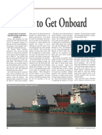 Its Time to Get Onboard. Maritime Reporter 2009