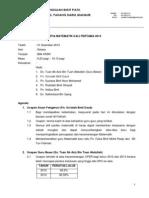 Panitia Matematik Kali Pertama 2014