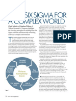 Lean Six Sigma for a Complex World