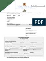 Portland Building Application Form