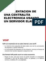 Implementacion Central telefonica usando elastix