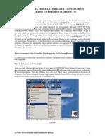 5 Pasos Para Editar, Compilar y Construir Un Programa en Fortran
