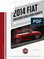 Fiat 500 and 500 Abarth 2014 Accessories Catalog - Fiat500USA.com