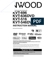 KVT-516 - Owners Manual - English