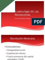 América Latina en el siglo XX Revoluciones