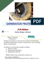 Generator Protection - F