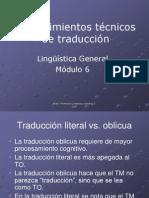 4 Procedimientos de Traducci n
