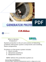 Generator Protection - Scribd