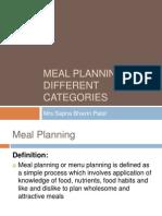 mealplanningfordifferentcategories-131215230653-phpapp02