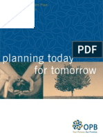 Planning Today for Tomorrow - PSPP Plan Booklet Jul2012