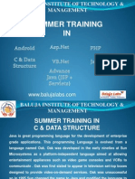 Summer Training_C & Data Structure