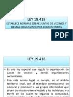 Leyes Para Organizaciones Sociales