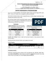 Survey Kepuasan Stakeholder