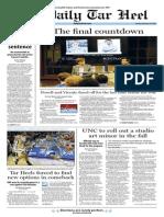 The Daily Tar Heel for Feb. 18, 2014