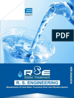 RS ENGINEERING - WATER TREATMENT PLANT AND FILTRATION SYSTEM