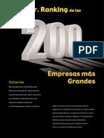 Lista empresas más grandes Bolivia