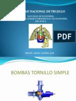 Bombas Tornillo Simple