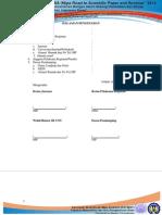 format lembar pengesahan dan cover