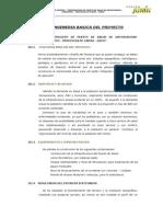Ingeneria Basica Del Proyecto Puesto de Salud - Duraznioic.
