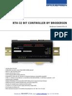 Brodersen Powerful Controller Compact RTU32