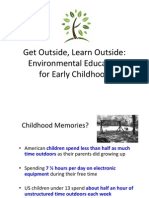 Get Outside, Learn Outside Abbreviated Research Presentation