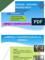 Procedimientos de Limpieza y Desinfeccion Expooo