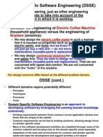Domain Specific Software Engineering(DSSE)