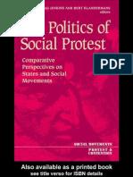 the Politics of Social Protest