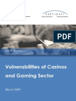 FATF Casinos and Gaming Report 2009