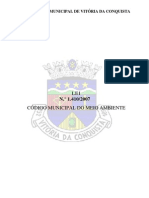 Lei 1410-2007 - Codigo Meio Ambiente