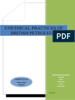Unethical Practices of British Petroleum
