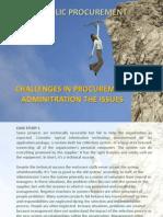 Topic 1 Procurement Challenges